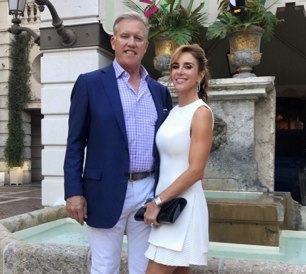 John Elway Looking Sharpo In Monaco With His Wife