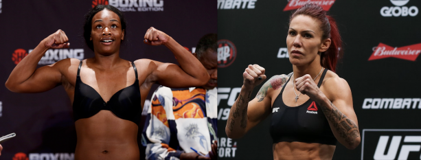 UFC Champion Cris Cyborg's Rumored Boxing Opponent Fighting Tonight