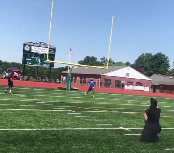 Odell Beckham Jr. Has A CANNON (VIDEO)