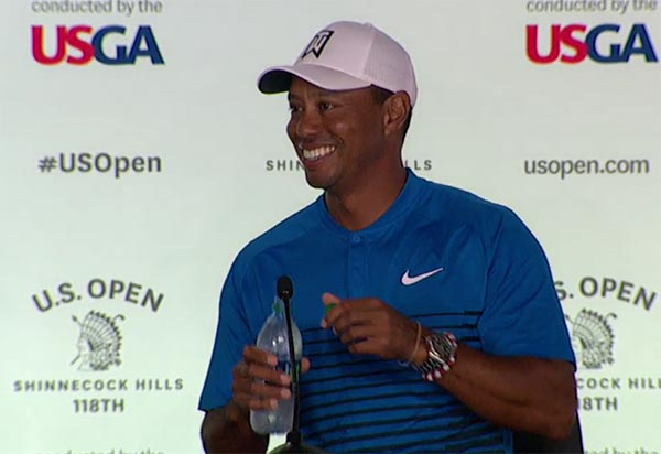 WATCH: Tiger Woods At His U.S. Open Press Conference Tuesday