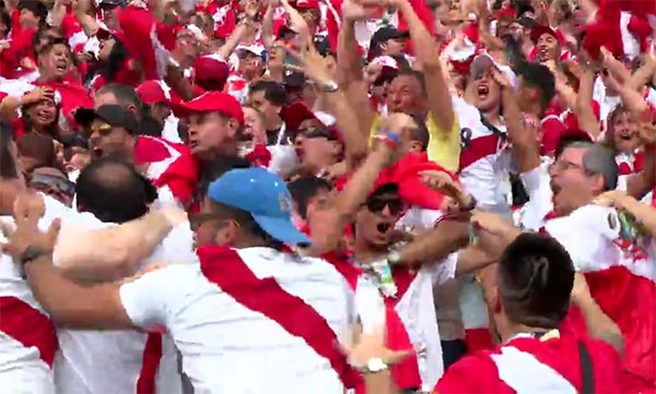 Peru Scored Its First World Cup Goal Since 1982