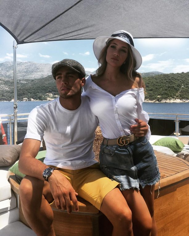 Checkout Croatian Midfielder Mateo Kovacic's Wife (PICS)