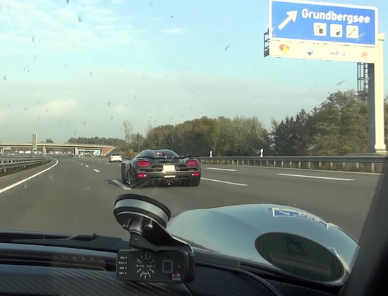 Top speed Porsche 918 Spyder gets TROLLED by Koenigsegg Agera R in clearcarbon