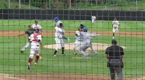WATCH: Former MLB Pitcher Starts Bench Clearing Brawl In Independent League Game