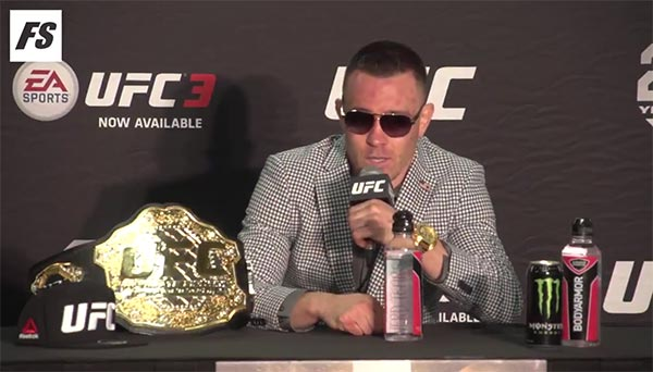 "UFC's Colby Covington Rips The ""Filthadelphia Eagles"" For Disrespecting Trump & The Country (VIDEO)"