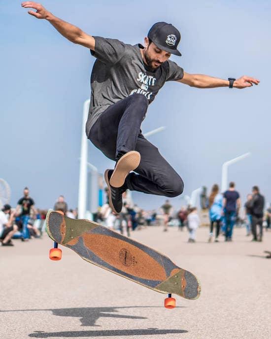 Video- Who Said Longboarders Can't Kickflip?