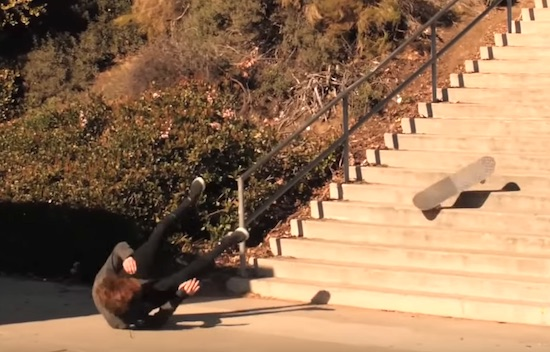 Adrien BulardBeat Him Self Up For An Hour For This Backside Tailslide