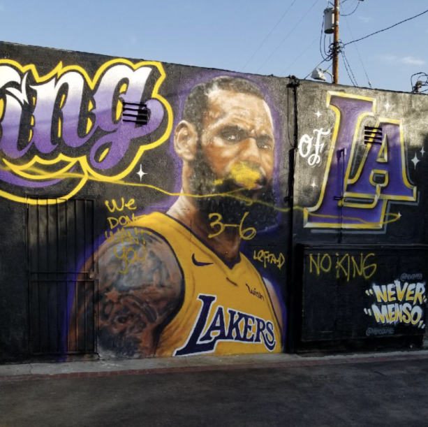 LeBron James Mural Gets Truth Bombed With His 3-6 NBA Finals Record
