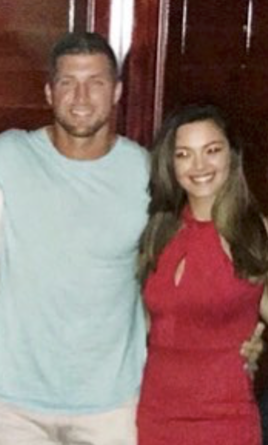 Tim Tebow and New Girlfriend's  FIRST Photo Together