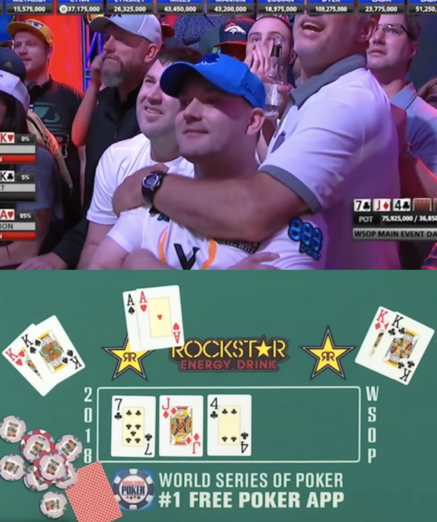 2018 World Series of Poker final table set with crazy ending