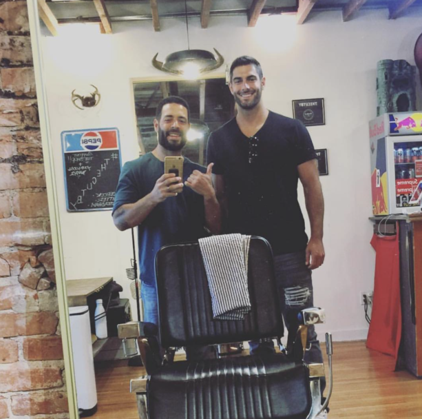 Jimmy Garoppolo Getting A Haircut After He Paid To Have Dinner With A Sex Worker Last Night