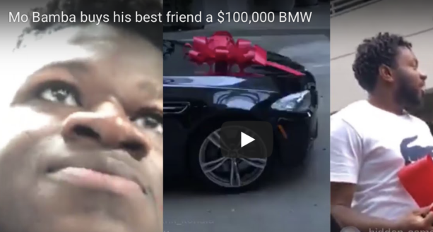 Mo Bamba buys his best friend a $100,000 BMW