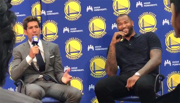 DeMarcus Cousins Loves Him Some #CaboKlay (VIDEO)