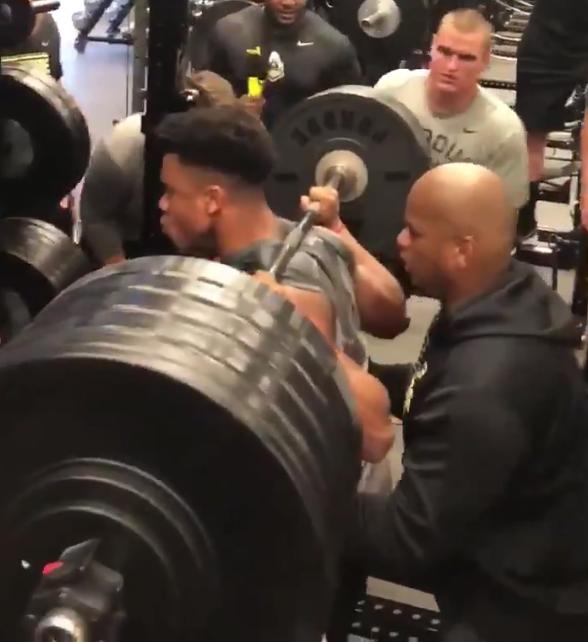 WATCH: 5-foot-8 Purdue Freshman Squat 600 Pounds