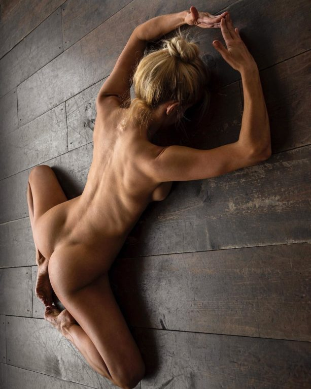 from Jace naked hot fitness babe