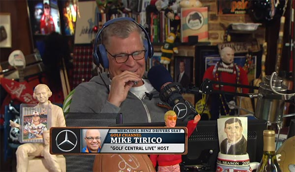 Mike Tirico Shares A Funny Donald Trump Golf Story