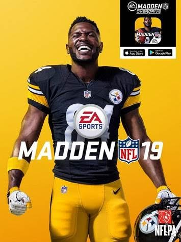 Antnio Brown Gets The Madden 19 Cover