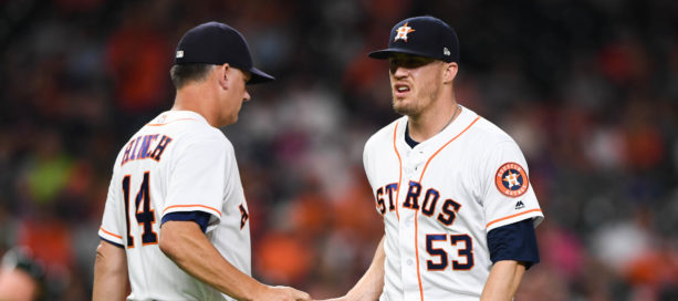 Astros Closer Ken Giles Sent To Minors After Cursing At His Manager