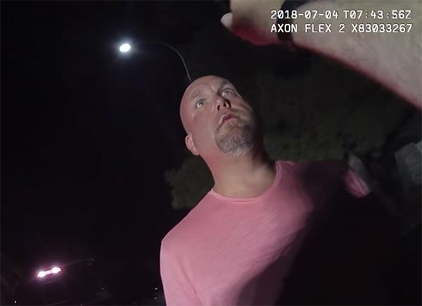 Arizona Cardinals GM Steve Keim's DUI Arrest Video (VIDEO)