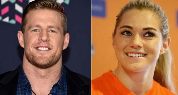 JJ Watt Spotted with Soccer Playing Girlfriend