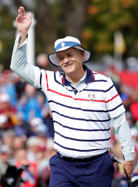 Bill Murray Killing it with the Ladies on the Course