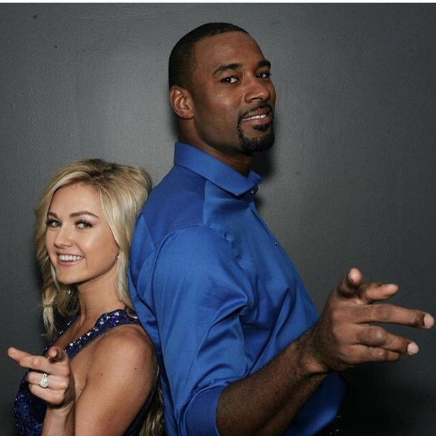 Calvin Johnson and His Dance Partner Building Chemistry
