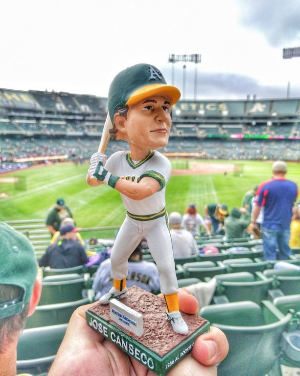 """Jose Canseco Thinks His Bobblehead Is """"Skinny"""" From The Pre-Steroid-era"""