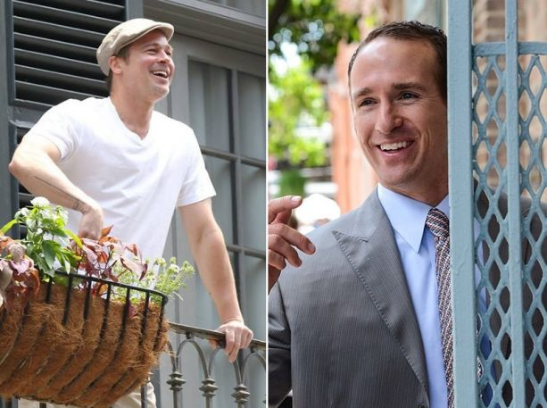 Drew Brees Reaches out to Brad Pitt