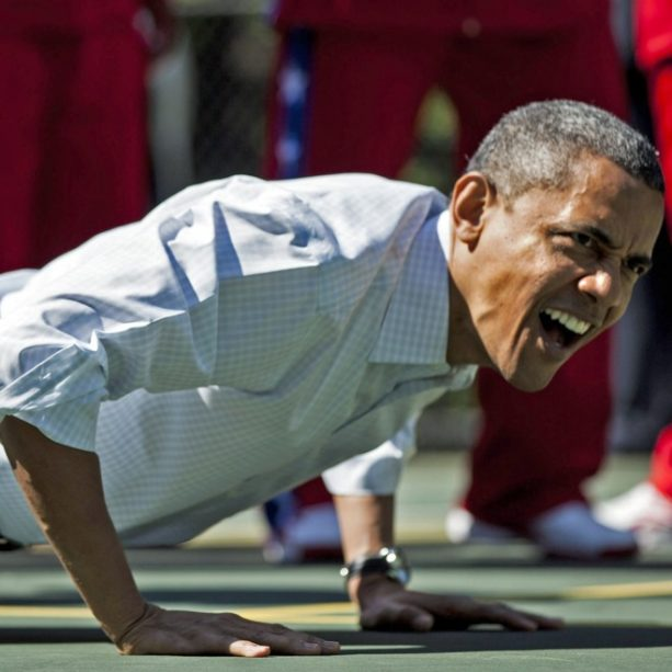 Obama Releases His Workout Playlist