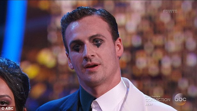 Ryan Lochte is heckled by DWTS Crowd