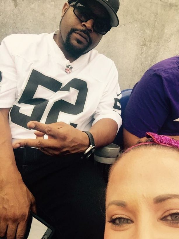 Ice Cube and His Squad at Raiders Road Game