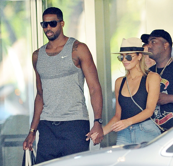 """Tristan Thompson Engaged To """"Evil Empire"""" Member"""