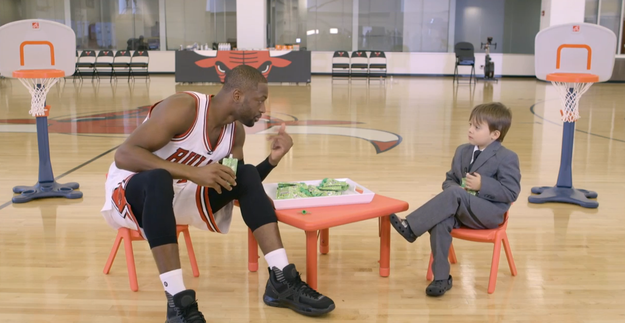 Kid Interviews Chicago Bulls Players About Their Favorite Snacks