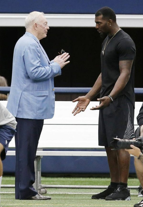 Jerry Jones Says Only God Knows about Dez Bryant's Missed Practices