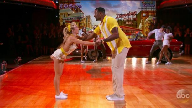 Calvin Johnson Shows off His Quickstep