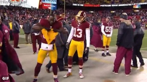 Pierre Garcon Shreds himself some Cheese