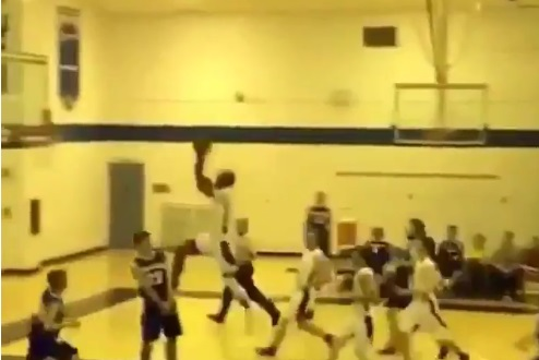High School Dunk of the Year!