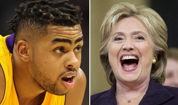 Don't Compare D'Angelo Russell to Hillary Clinton