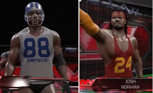 Dez Bryant and Josh Norman settle their feud in the ring