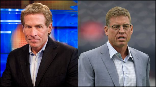 Skip Bayless Wants to Squash Gay Beef with Troy Aikman