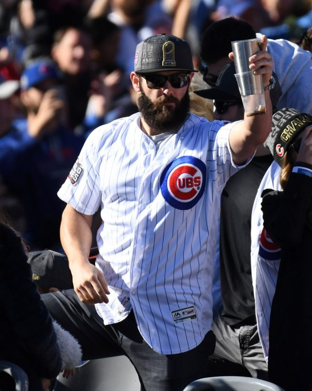 See What Jake Arrieta Looks Like without his Beard