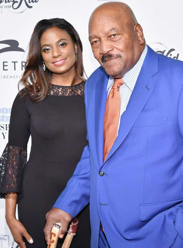 Jim Brown At 80 Still Has A Hot Wife