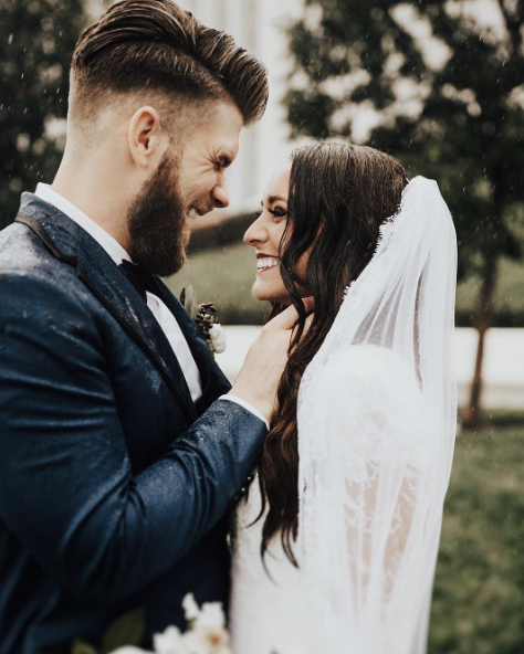 Nationals Star Bryce Harper Gets Married