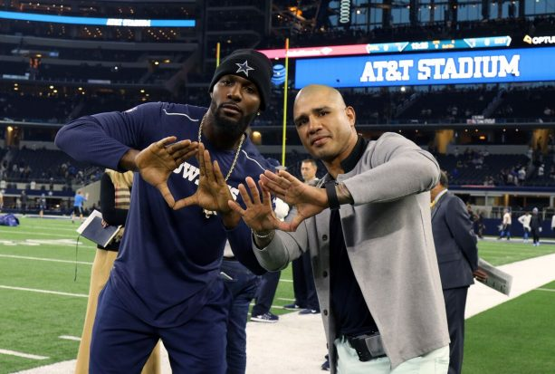 Miguel Cotto Was Repping with Dez Bryant
