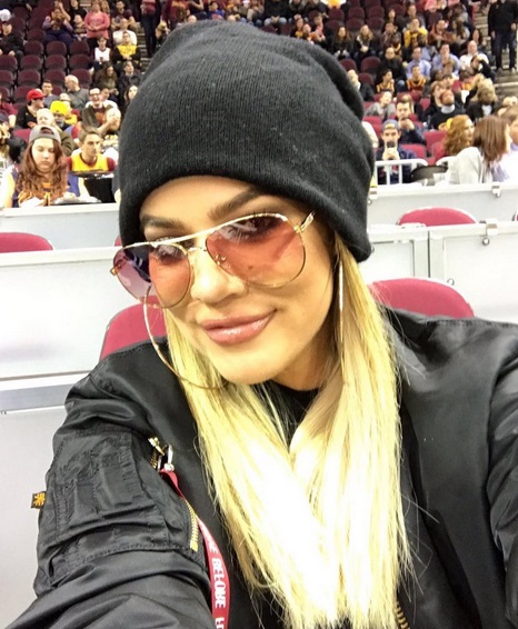 Cavs # 1 Fan Keeping up her Attendance