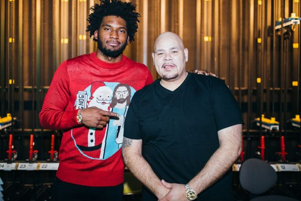 Justise Winslow Performs with Fat Joe