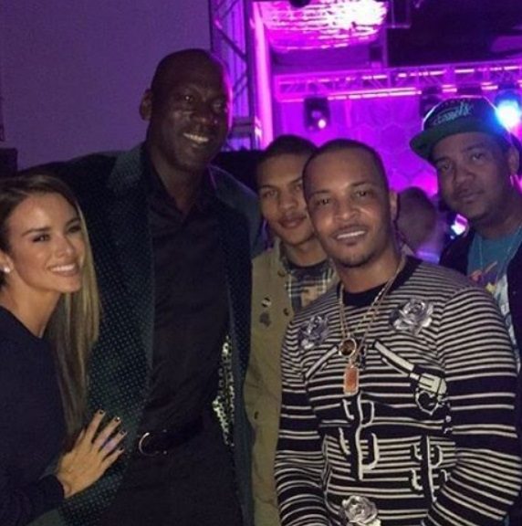 Michael Jordan And Wife Catch Up With Ti Terez Owens 1 Sports