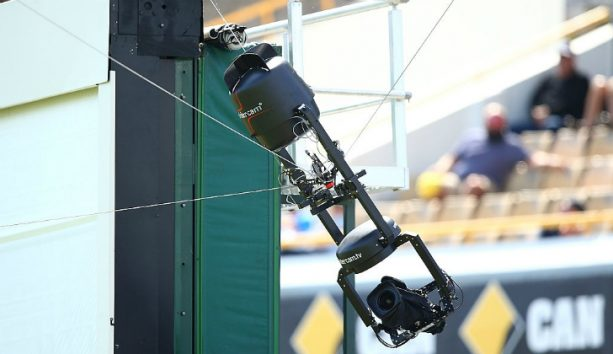 First QB In NFL History To Hit The Spidercam Wire