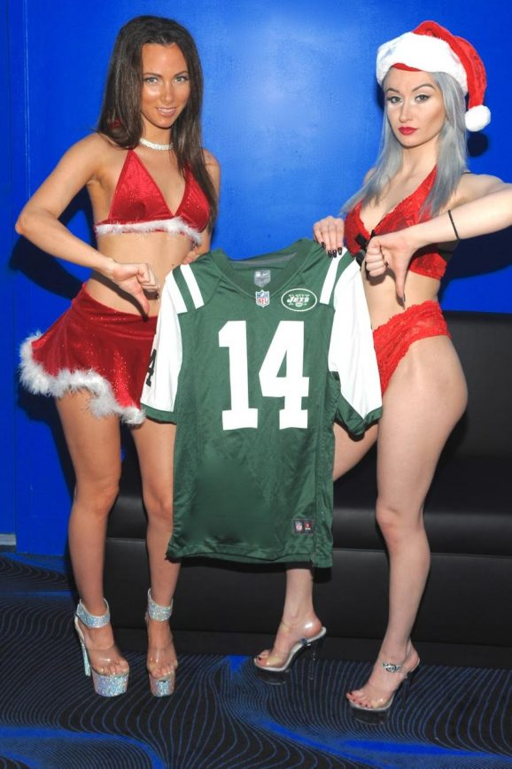 NYC Strippers Ask Santa to Bring the NY Jets a New Quarterback
