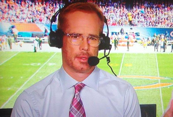 Joe Buck Now Addicted to Beard Plugs?